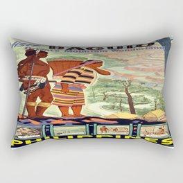 Vintage poster - Philippines Rectangular Pillow