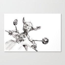 Joy Ride Canvas Print