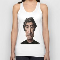scarface Tank Tops featuring Celebrity Sunday ~ Al Pacino by rob art | illustration