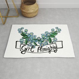 Girl Almighty Rug