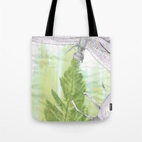 bugs Tote Bags featuring Bugs by Marlidesigns