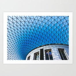 Great Court at the British Museum, London Art Print