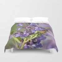 bee Duvet Covers featuring Bee by Stecker Photographie