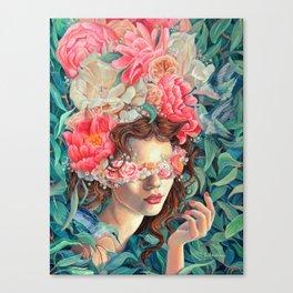 Persephone, Greek Goddess Mythology Art, original oil painting print Canvas Print