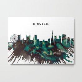 Bristol skyline Metal Print