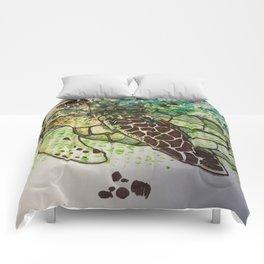 Hawksbill Sea Turtle Comforters