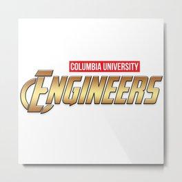 Columbia University engineers Metal Print