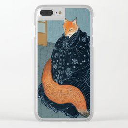 The Fox's Wedding Clear iPhone Case