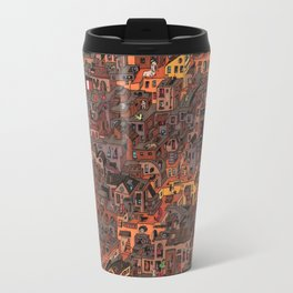 Gold Favela Travel Mug