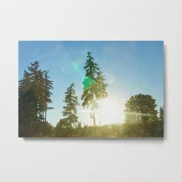 Northwestern Sunsets Metal Print