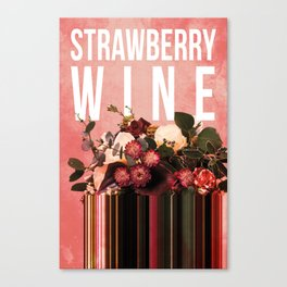 Strawberry Wine in Punch Canvas Print
