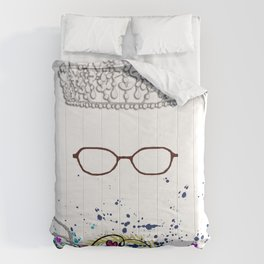 The Princess Diaries - the Princess wears Glasses?! Shut Up! Comforters
