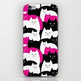 Fat Cats iPhone Skin