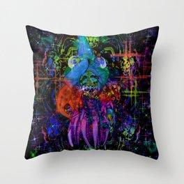 CrunchyFins Throw Pillow