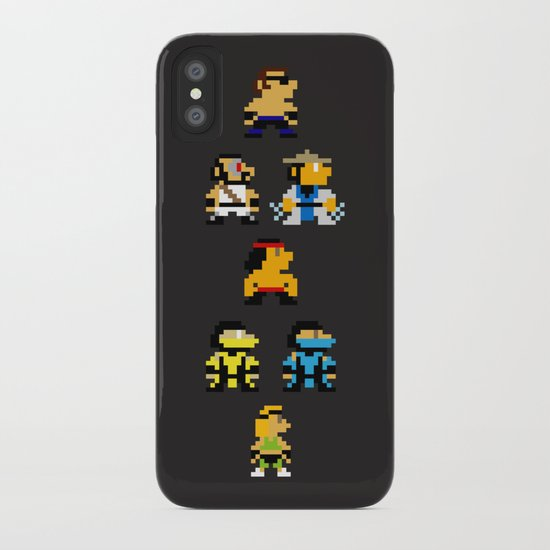 Choose Your Fighter iPhone Case
