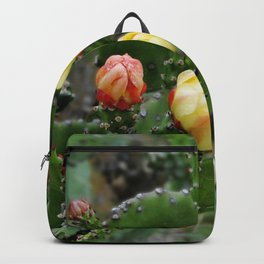 Cactus with flower Backpack