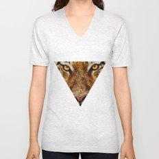 Animal Art - Tiger Unisex V-Neck