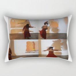 Wind Chimes Rectangular Pillow