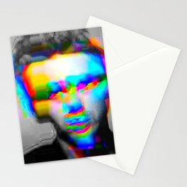 JD Glitch Stationery Cards