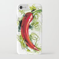 vietnam iPhone & iPod Cases featuring Vietnam Chilli by Vietnam T-shirt Project