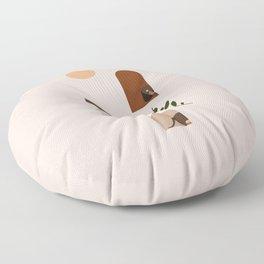 Hide and Seek Dachshund Floor Pillow