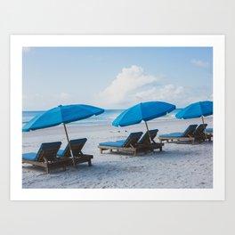 Mornings at the Beach II Art Print