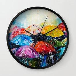 RAIN,RAIN,RAIN... Wall Clock