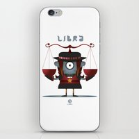 libra iPhone & iPod Skins featuring LIBRA by Angelo Cerantola