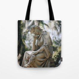 Bonaventure Cemetery - Statue of Eliza Wilhelmina Theus Tote Bag