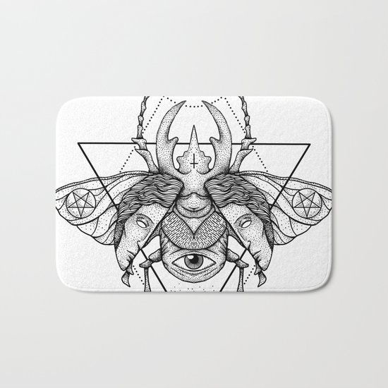 Occult Beetle II Bath Mat