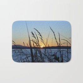 Sunset Sea Grass Bath Mat