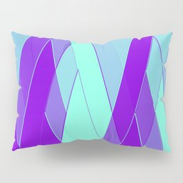 Re-Created Vertices No. 23 by Robert S. Lee Pillow Sham