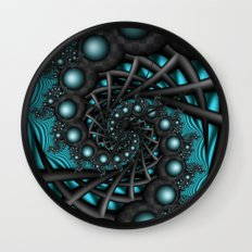 Cyber Wave Wall Clock