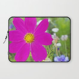 Flowers Go Wild in Wimbledon 5 - Cosmos the bold Laptop Sleeve