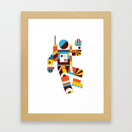 Hello Spaceman 2.0 Framed Art Print