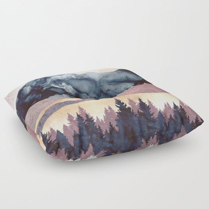 Mauve Vista Floor Pillow