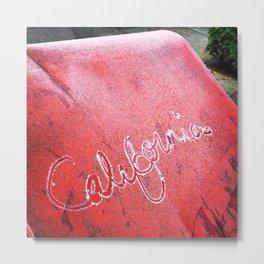 California Love. Metal Print