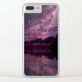 The Distant Lights Clear iPhone Case