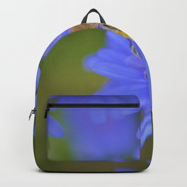 BeeMine Little Blues by Reay of Light Photography Backpack