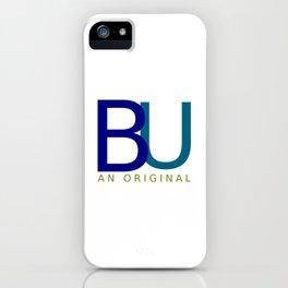 BU An Original (dark) iPhone Case