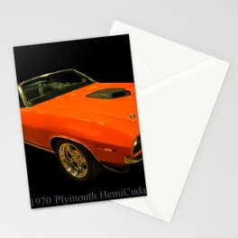 1970 Plymouth Hemicuda Convertible Stationery Cards