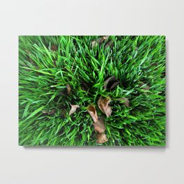 greeen Metal Print