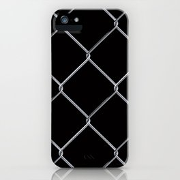 Black Chainlink iPhone Case