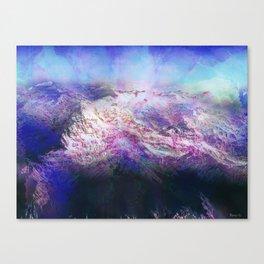 Andes (A Seismic Portrait) Canvas Print