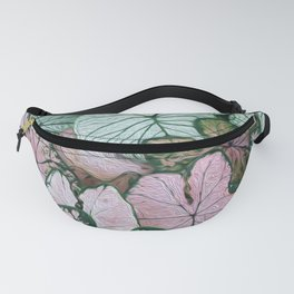 Coleus Leaves Fanny Pack