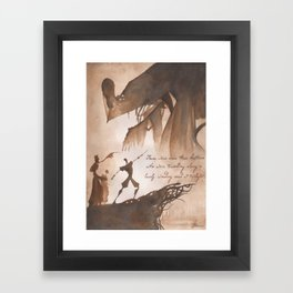 The Tale of Three Brothers Framed Art Print