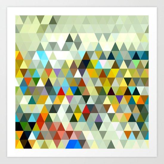 Awesome Triangle Art Print