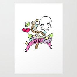 Doll logo Art Print
