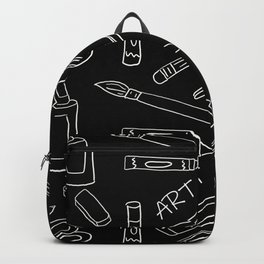 So Many Art Supplies Backpack