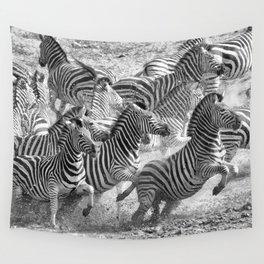 Zebras Wall Tapestry